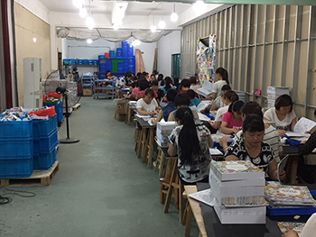 Our Assembly and Quality Assurance team can go deeply into detail in checking the items