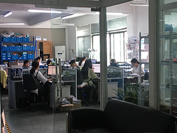 Our team in a busy-mode to push projects and order