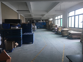 We also have our own warehouse to secure materials and orders for shipment