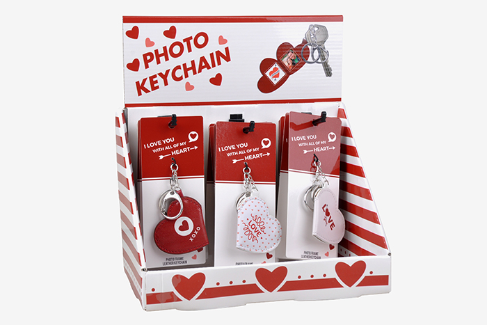 1000 miles product - Valentine's day keychains