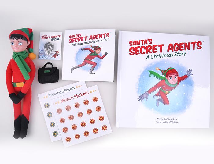 1000 miles product - santa's secret agent