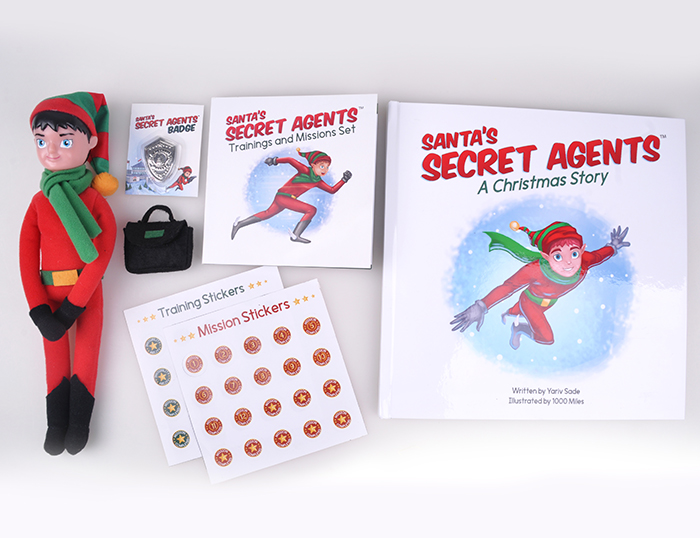 1000 miles santa's secret agent