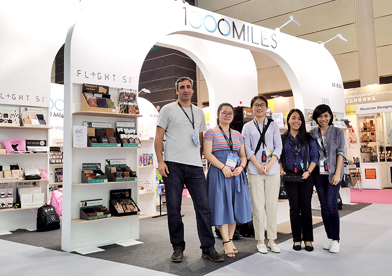 1000 Miles HKTDC Fair Supplier Booth