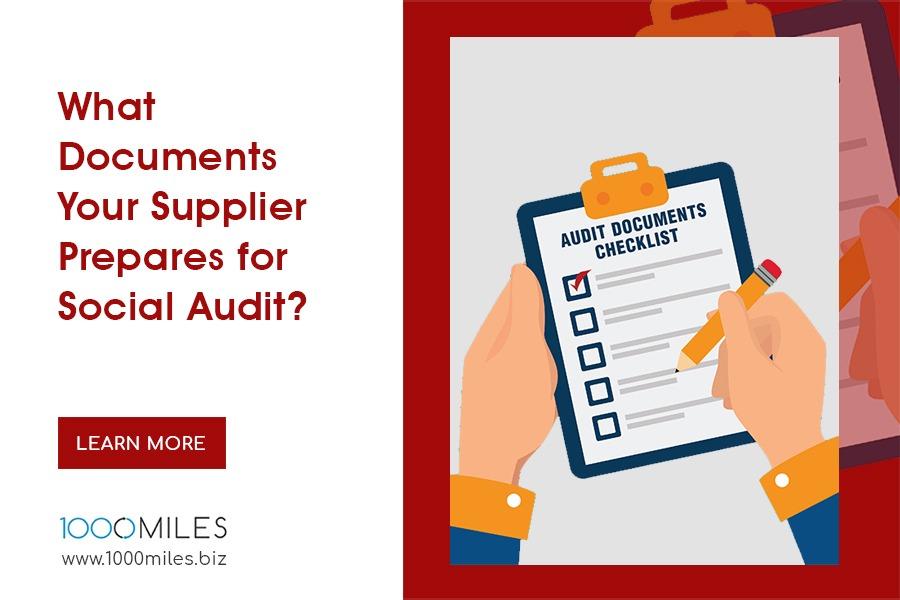 Social Compliance Audit Checklist