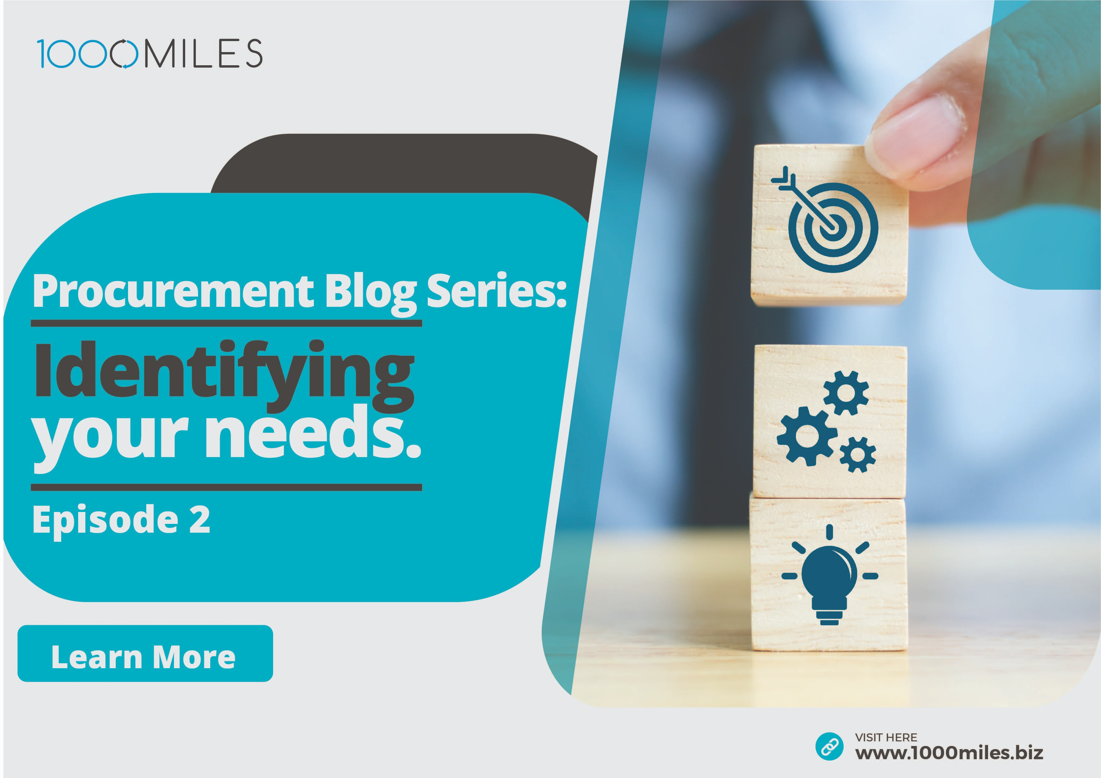 Identifying Your needs Procurement blog series episode two